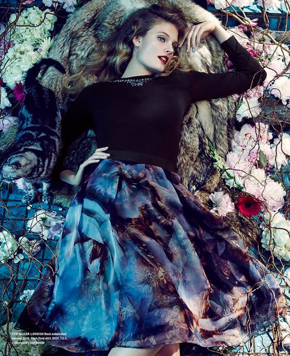 #FarfetchFairytale Constance Jablonski by An Le for Bloomingdale's