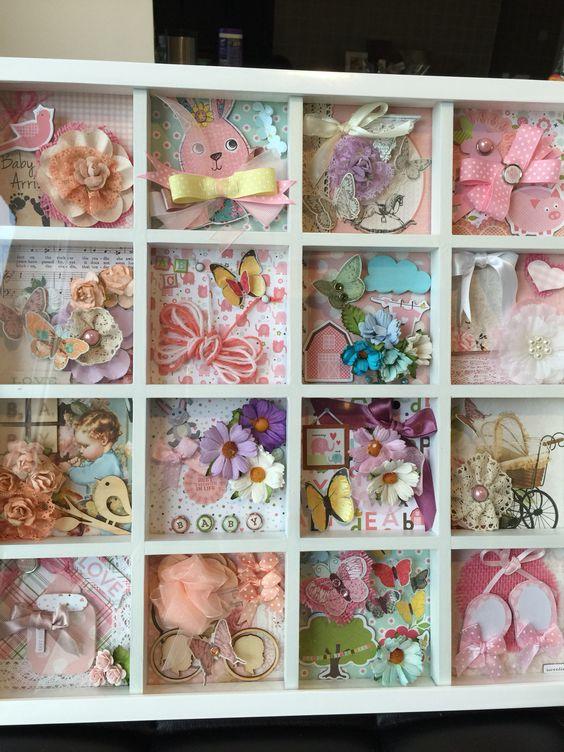 Handmade frame for a nursery