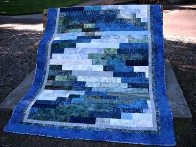 Oregon Batik Waterfall By Bear Creek Quilting Company Batik Quilt Pattern Books Batik Quilt Patterns For Beginners Free Batik Strip Quilt Patterns