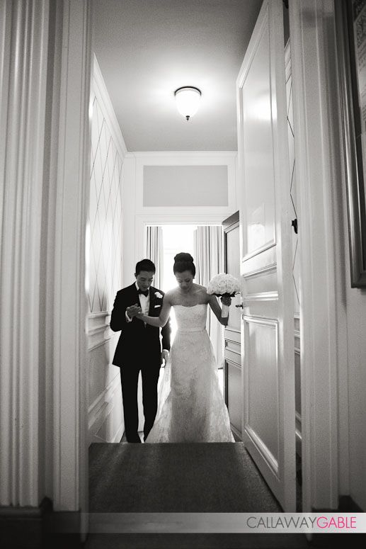 Swoon...I love when grooms give the bride a helping hand...