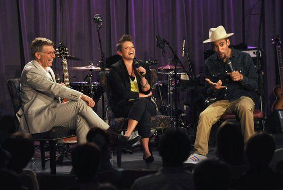Bob Santelli, Natalie Maines And Ben Harper | GRAMMY.com