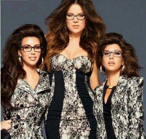 Kim, Khloe, and kourtney kardashian