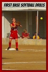 Softball Practice Drills Specifically for First Basemen : Softball Spot