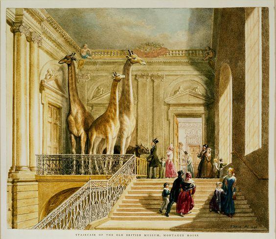 British Museum, Montague House: