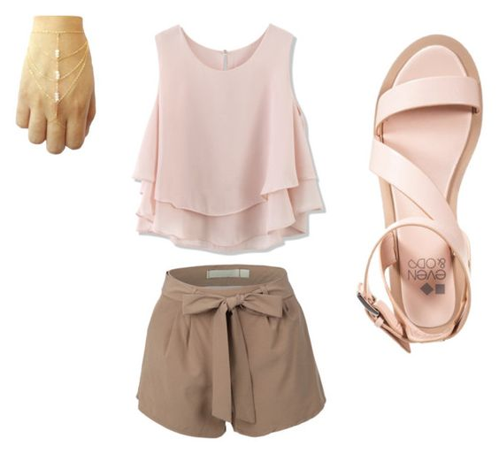 I am Calm by williamskaitlyn-kw on Polyvore featuring polyvore fashion style Chicwish even&odd