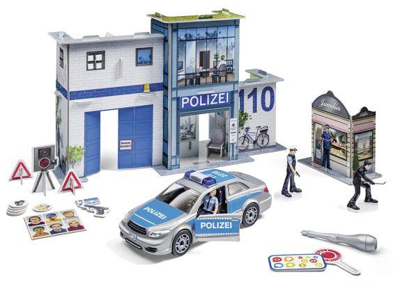 tiptoi Spielwelt Polizei von Ravensburger