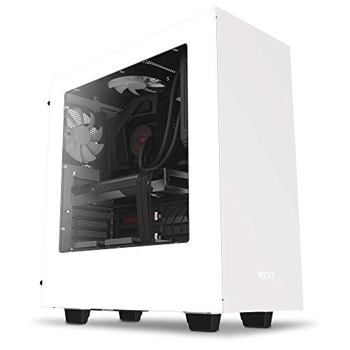 From 59 94 Nzxt S340 Mid Tower Pc Case White Computer Case
