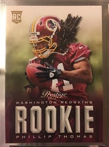 2013 Panini Prestige Phillip Thomas RC #274. Redskins. Near Mint. Combined S&H.