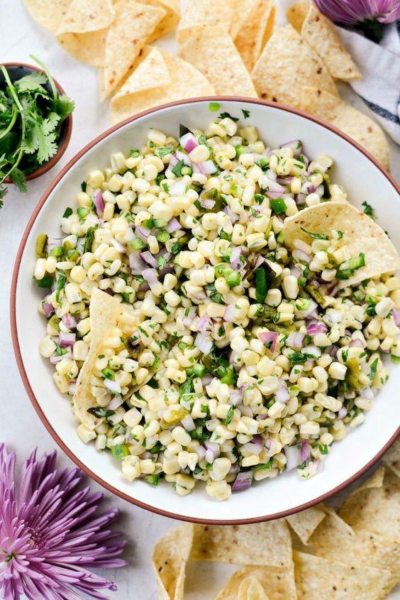 Chipotle's Sweet Corn Salsa