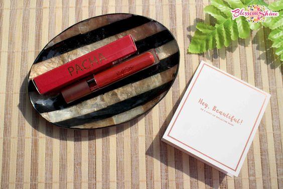Metallized Lip Stain MOB Cosmetic - Pacha