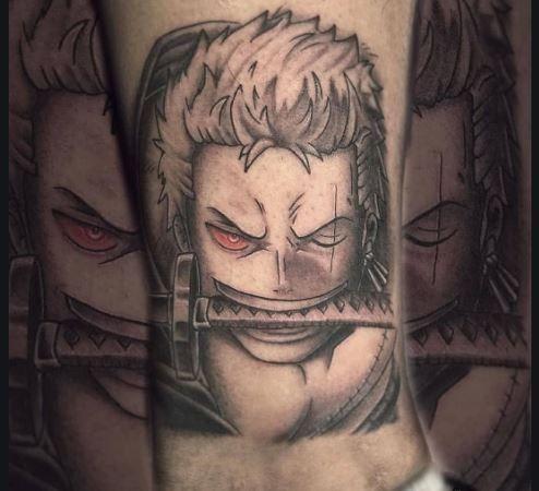 18+ X Tattoo One Piece