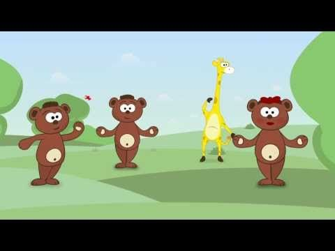 Cabeza, hombros, rodillas, pies - Canciones infantiles - Toobys - Canción para niños. - YouTube
