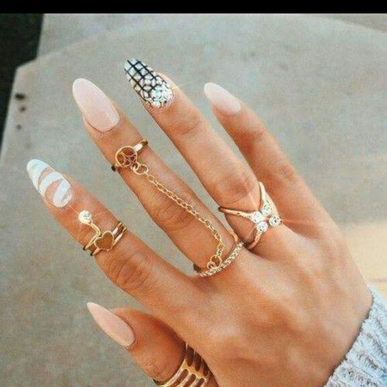 Nails and jewels