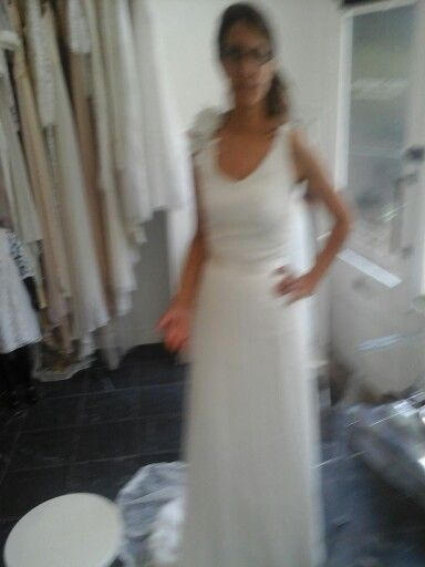 Made up dress