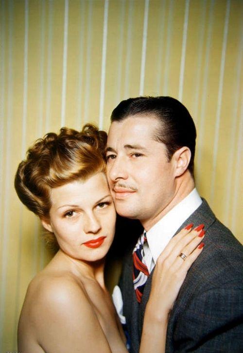 Rita Hayworth and Don Ameche, 1942.