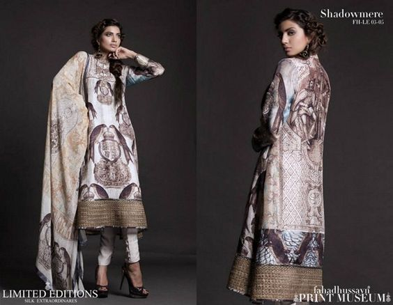 Fahad Hussayn Fall Dresses 2013 For Women