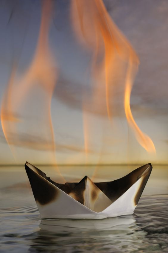 Burn the boats; why sometimes an exit plan is not a good idea and you just have to take the leap.