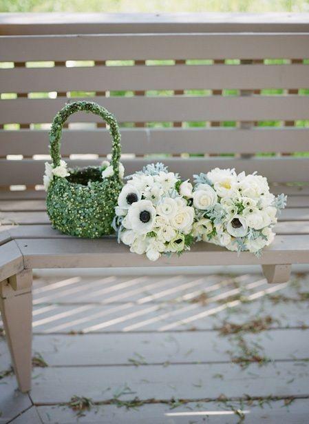 Green Wedding Day Inspiration