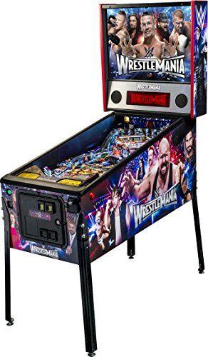 @>> Stern Pinball WWE WrestleMania Arcade Pro Edition Pinball Machine