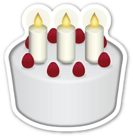 Birthday cake emoji birthday cakes and birthdays on pinterest