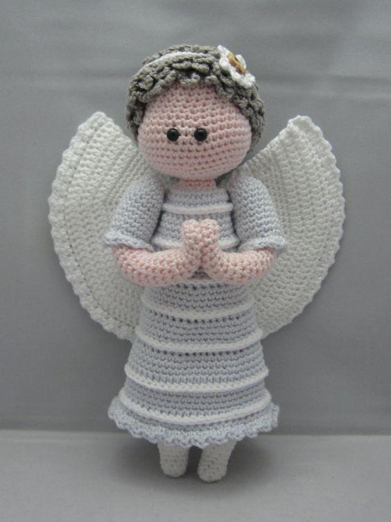 Amigurumi Crochet Angels : Amigurumi doll, Guardian angels and Amigurumi on Pinterest