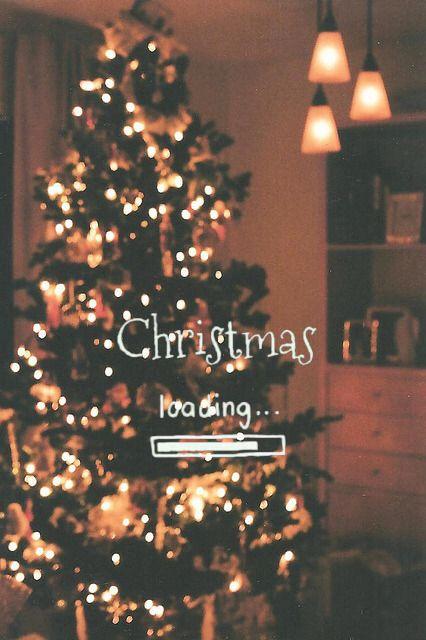 Christmas Loading Ahhhh I Want Christmas Back And Its Just July Christmas Wallpapers Tumblr Cute Christmas Wallpaper Christmas Wallpaper Awesome cute christmas themed wallpaper