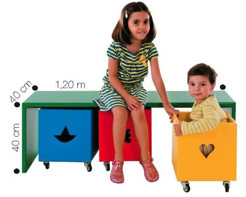 É possível combinar a bancada com as três caixas volantes da Kokada, em 27 opções de cor. O conjunto custa 1 080 reais, mas as peças podem ser vendidas separadamente: 532 e 235 reais, respectivamente.