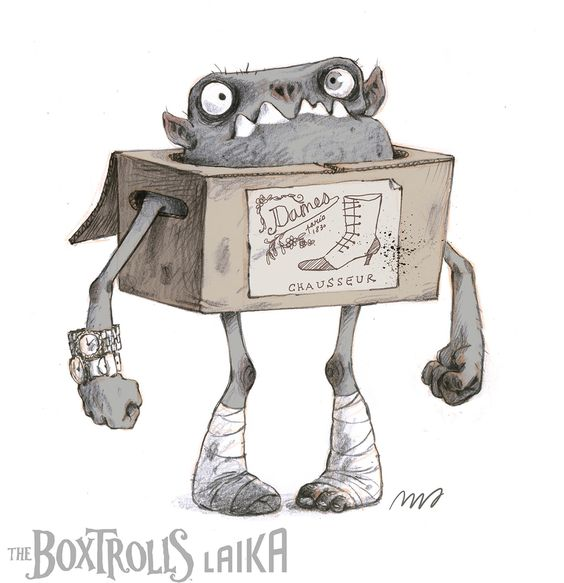 """Character design work on LAIKA's third feature film """"The Boxtrolls"""",  directed…"""