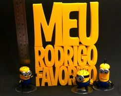 MEU MALVADO FAVORITO-Logo (GD)+3 Minions