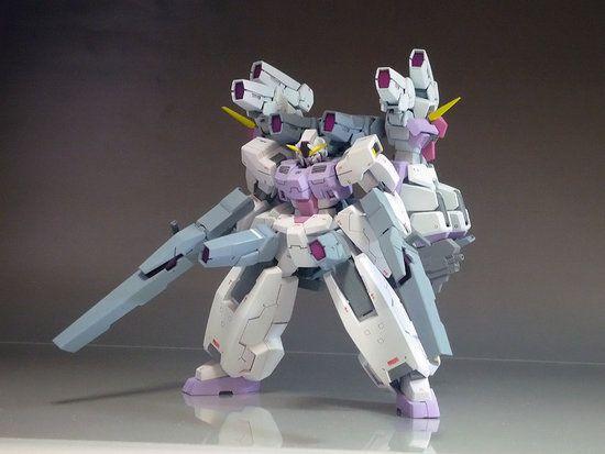 Custom Build Hg 1 144 Seravee Gundam Gnhw 3g Gundam Kits Collection News And Reviews Gundam Custom Gundam Gundam Model