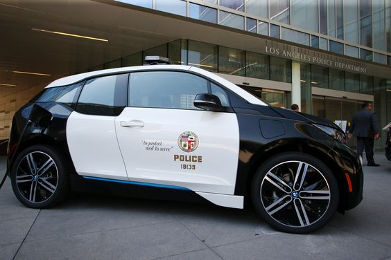 BMW To Supply the Los Angeles Police Department with 100 BMW i3 Electric Vehicles - http://www.bmwblog.com/2016/06/08/bmw-north-america-wins-bid-supply-los-angeles-police-department-100-bmw-i3-electric-vehicles/