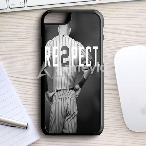 Respect Derek Jeter Re2Pect iPhone 7 Case | armeyla.com