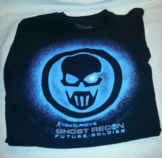 Ghost Recon - Future Solder Logo T-Shirt - Black 2X FAST SHIPPING #Ubisoft #GraphicTee