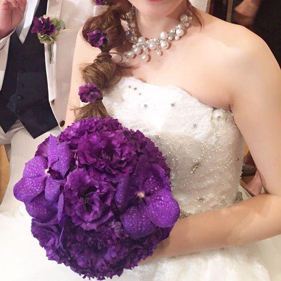 wedding bouquet by Mico Fleurs