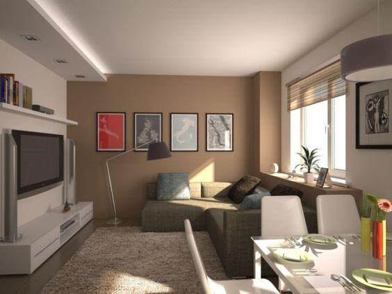 design : moderne kleine wohnzimmer ~ inspirierende bilder von ...