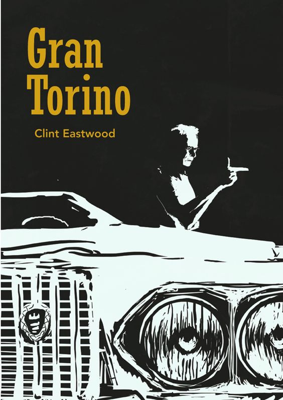 Gran Torino movie poster on Behance