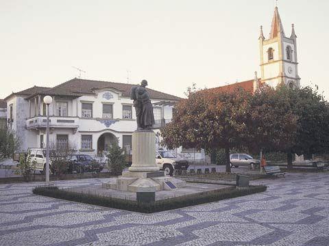 Vista do centro de Tondela