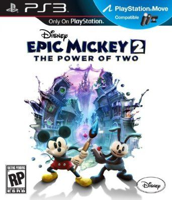 PS3 EPIC MICKEY 2 POWER OF TWO