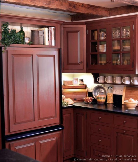 Pinterest the world s catalog of ideas for Country kitchen cabinet ideas