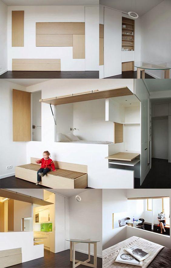 Little Things ArchiDesign: Sfida vinta con originalità ... i piccoli appartamenti_Metek-Architecture