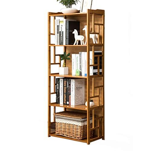 Bookcases Cabinets Shelves Bookshelf Solid Wood Bookshelf Living Room Storage Rack Floor Stand Study Shelf Multi Layer Modern Shelving Simple Bookshelf Shelves