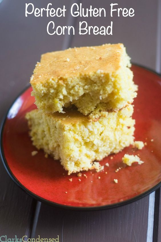 This is the best gluten free corn bread recipe out there. I promise, you won't be disappointed!