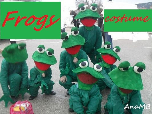 Frogs costumes