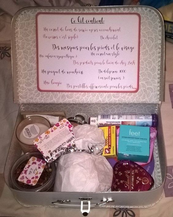 Faire Un Kit De Survie Pour Jeunes Mamans Idee Cadeau Jeune