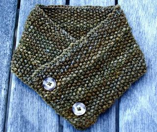 Neck warmer seed stitch stitches moss stitch seeds scarfs simple html