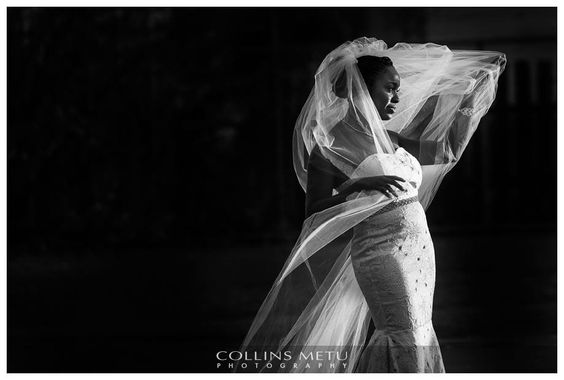 Mind Blowing Veil shot by Collins Metu Photography