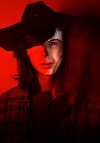 Season 7 Character Portrait Carl Grimes The Walking Dead