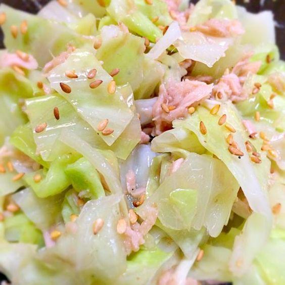 nao子se川さん、yumiさんありがとう。 すごく簡単に作れました。 また、飲まなあかん。 - 107件のもぐもぐ - nao子se川さん➡️Yumiさんの     キャベツとツナのおつまみサラダ by mottomotto