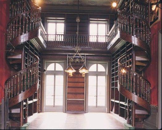 Chateau de groussay google search interiors pinterest spiral staircas - Chateau de groussay montfort l amaury ...
