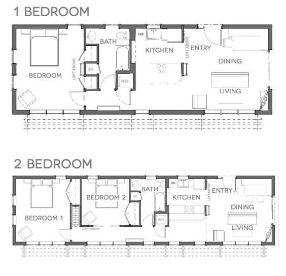 small house floor plan tiny spaces in tiny home – Small House Movement Floor Plans